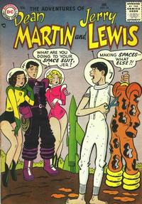 Cover Thumbnail for The Adventures of Dean Martin & Jerry Lewis (DC, 1952 series) #34