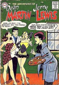 Cover Thumbnail for The Adventures of Dean Martin & Jerry Lewis (DC, 1952 series) #35