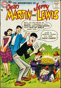Cover Thumbnail for The Adventures of Dean Martin & Jerry Lewis (DC, 1952 series) #36