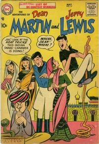 Cover Thumbnail for The Adventures of Dean Martin & Jerry Lewis (DC, 1952 series) #37