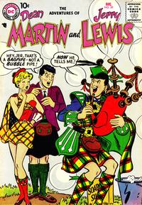 Cover Thumbnail for The Adventures of Dean Martin & Jerry Lewis (DC, 1952 series) #39