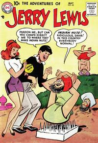 Cover Thumbnail for The Adventures of Jerry Lewis (DC, 1957 series) #45