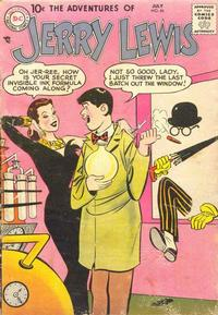 Cover for The Adventures of Jerry Lewis (DC, 1957 series) #46