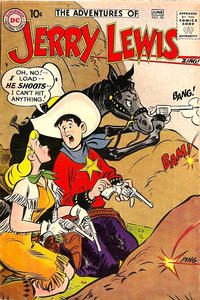 Cover Thumbnail for The Adventures of Jerry Lewis (DC, 1957 series) #58