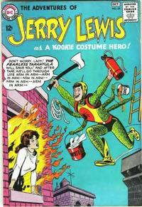 Cover Thumbnail for The Adventures of Jerry Lewis (DC, 1957 series) #84