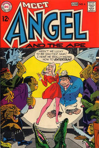 Cover Thumbnail for Angel and the Ape (DC, 1968 series) #4