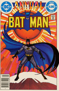 Cover Thumbnail for Batman Annual (DC, 1961 series) #8 [Newsstand]