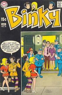 Cover Thumbnail for Binky (DC, 1970 series) #76