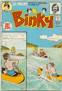 Cover Thumbnail for Binky (DC, 1970 series) #81