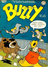 Cover Thumbnail for Buzzy (DC, 1945 series) #9