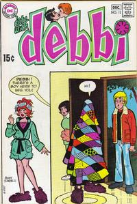 Cover for Date with Debbi (DC, 1969 series) #12