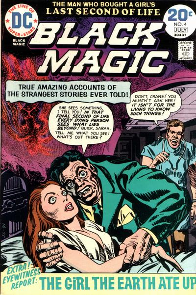 Cover for Black Magic (DC, 1973 series) #4