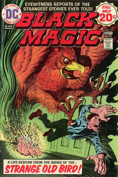 Cover for Black Magic (DC, 1973 series) #5