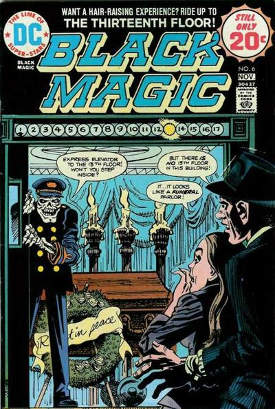 Cover for Black Magic (DC, 1973 series) #6