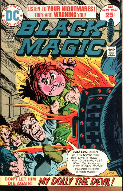 Cover for Black Magic (DC, 1973 series) #8