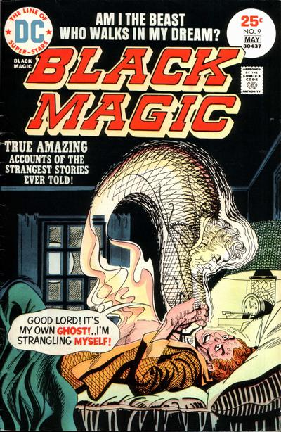 Cover for Black Magic (DC, 1973 series) #9