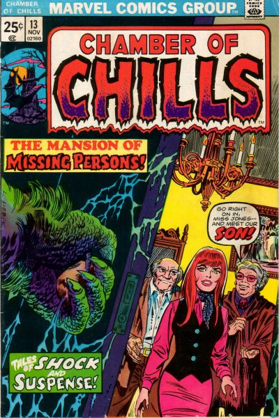 Cover for Chamber of Chills (Marvel, 1972 series) #13