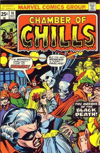 Cover for Chamber of Chills (Marvel, 1972 series) #16