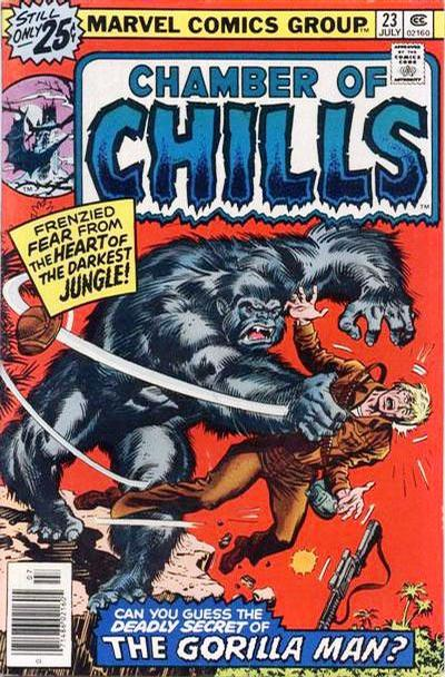Cover for Chamber of Chills (Marvel, 1972 series) #23 [30 cent cover price variant]
