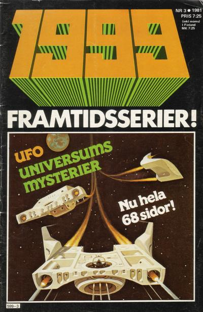 Cover for 1999 (Semic, 1980 series) #3/81