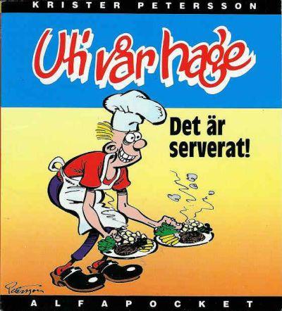 Cover for Alfa-pocket (Semic, 1993 series) #1993, Uti vår hage