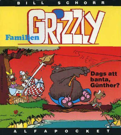 Cover for Alfa-pocket (Semic, 1993 series) #1994, Familjen Grizzly