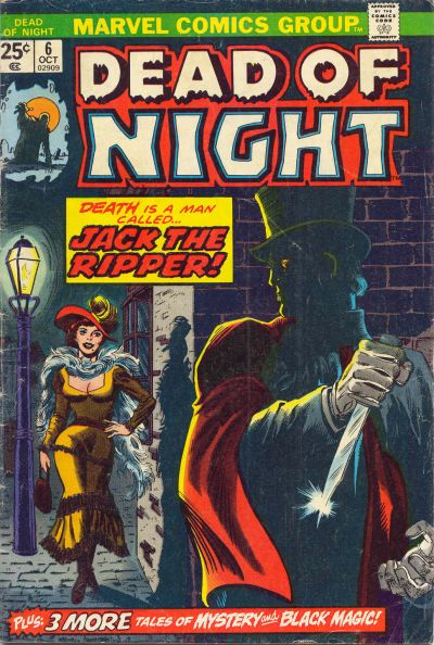 Cover for Dead of Night (Marvel, 1973 series) #6