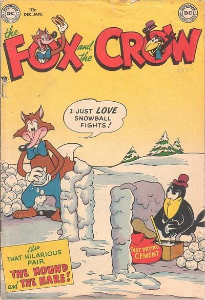 Cover for The Fox and the Crow (DC, 1951 series) #1