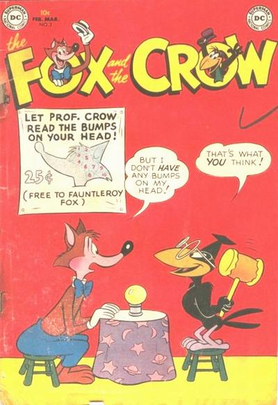 Cover for The Fox and the Crow (DC, 1951 series) #2