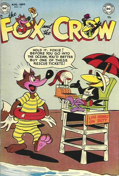 Cover for The Fox and the Crow (DC, 1951 series) #11