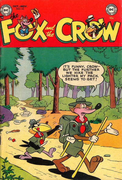 Cover for The Fox and the Crow (DC, 1951 series) #12