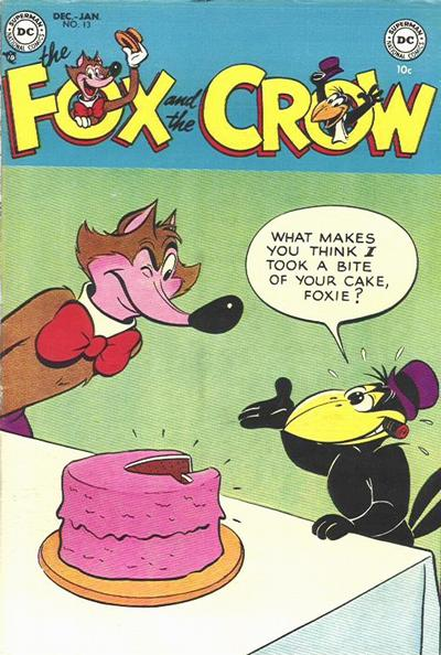 Cover for The Fox and the Crow (DC, 1951 series) #13