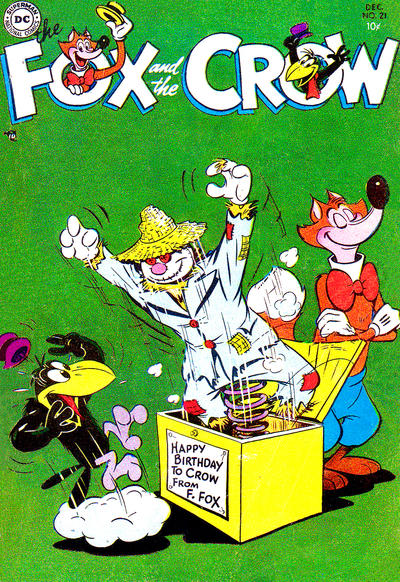 Cover for The Fox and the Crow (DC, 1951 series) #21