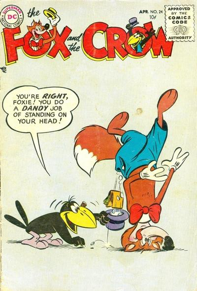 Cover for The Fox and the Crow (DC, 1951 series) #24