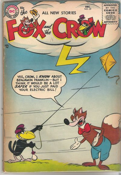 Cover for The Fox and the Crow (DC, 1951 series) #29