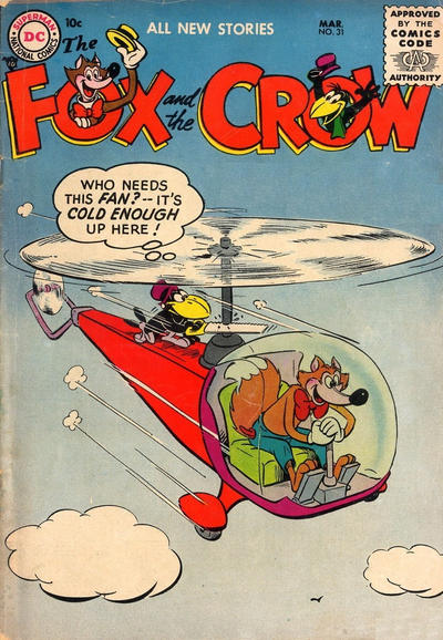 Cover for The Fox and the Crow (DC, 1951 series) #31