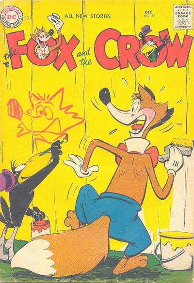 Cover for The Fox and the Crow (DC, 1951 series) #37