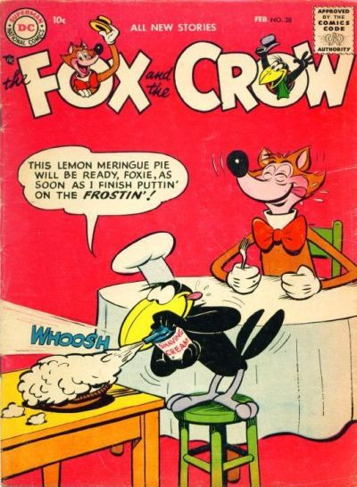 Cover for The Fox and the Crow (DC, 1951 series) #38