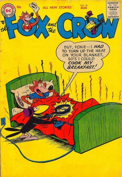 Cover for The Fox and the Crow (DC, 1951 series) #39