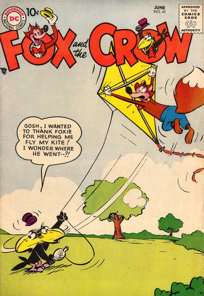 Cover for The Fox and the Crow (DC, 1951 series) #41