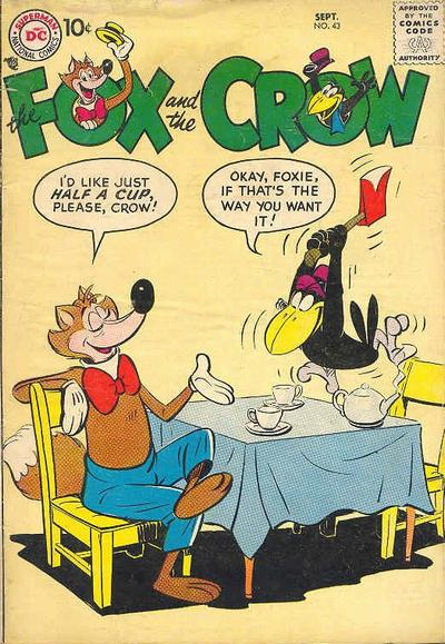 Cover for The Fox and the Crow (DC, 1951 series) #43