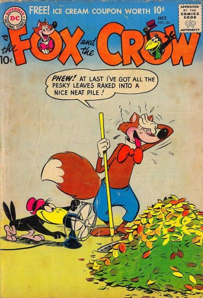 Cover for The Fox and the Crow (DC, 1951 series) #44