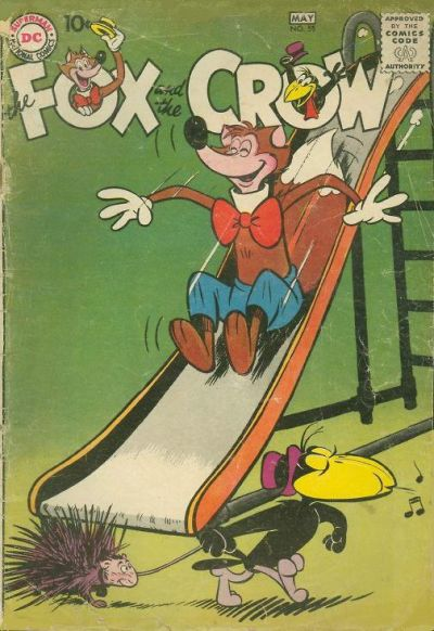 Cover for The Fox and the Crow (DC, 1951 series) #55