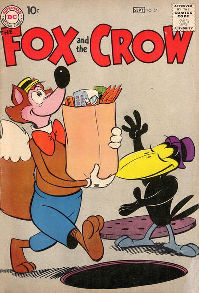 Cover for The Fox and the Crow (DC, 1951 series) #57