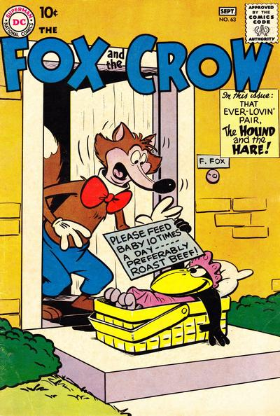 Cover for The Fox and the Crow (DC, 1951 series) #63