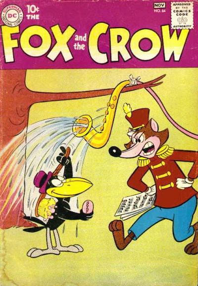 Cover for The Fox and the Crow (DC, 1951 series) #64