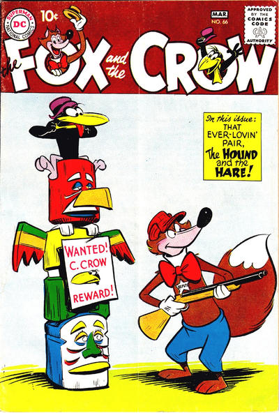 Cover for The Fox and the Crow (DC, 1951 series) #66