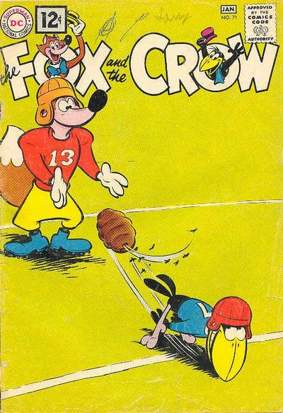 Cover for The Fox and the Crow (DC, 1951 series) #71
