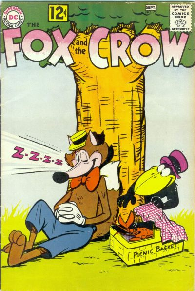 Cover for The Fox and the Crow (DC, 1951 series) #75