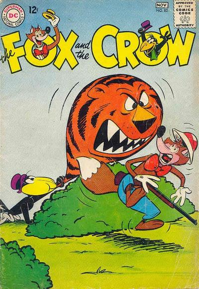 Cover for The Fox and the Crow (DC, 1951 series) #82
